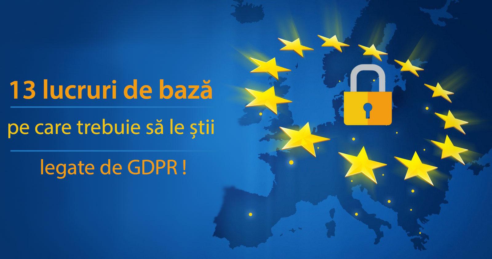 informatii utile GDPR